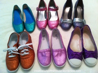 glittered-shoes