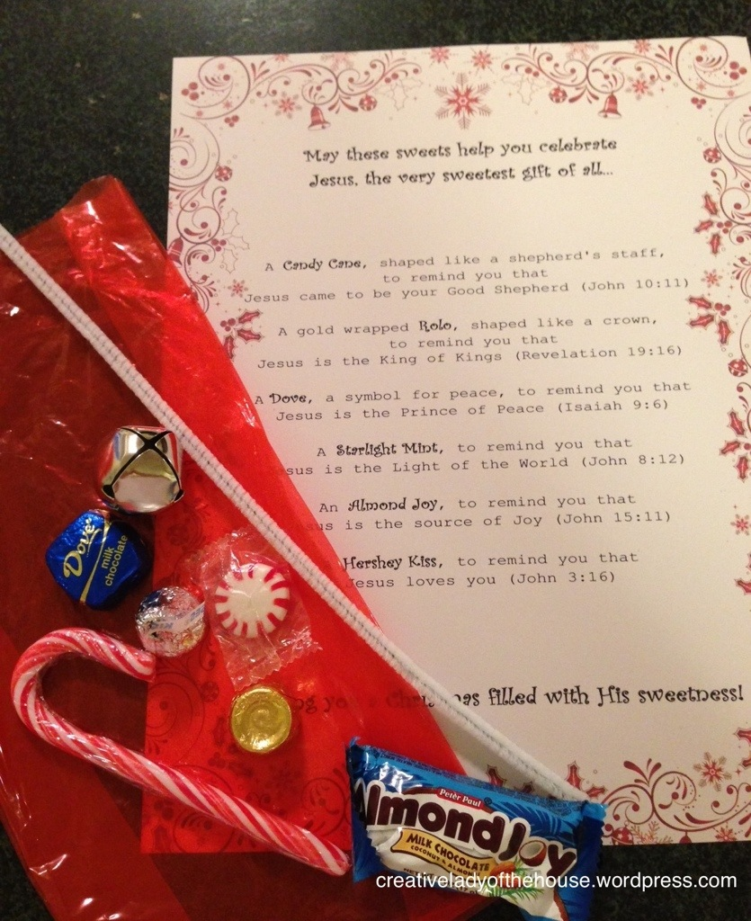 Giveaways For Christmas Party: Creative Lady Of The House